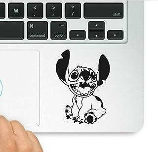 Lilo and Stitch Stich Aufkleber & Sticker Pros motivierendes Zitat gedruckt auf transparentem Vinyl, kompatibel mit allen MacBook Pro, Retina und Air