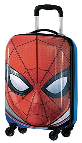 Marvel Spiderman M97703 Equipaje Infantil, 55 cm, 33 Litros, Rojo