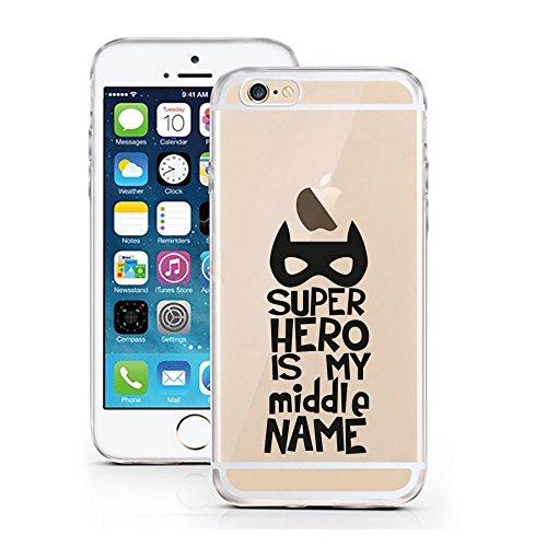 Preisvergleich Produktbild licaso iPhone 6 6S Reunited 2 Design 04.08.2017 (iPhone 6 6S,  Super Hero is My Middle Name)