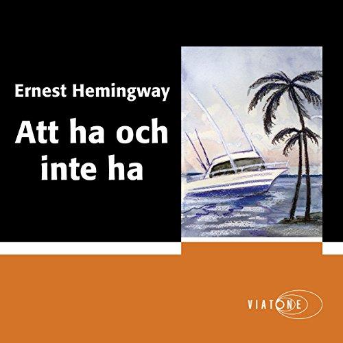 『Att ha och inte ha [To Have and Have Not]』のカバーアート