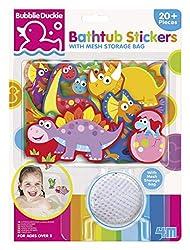 7. 4M Foam Bathtub Stickers with Mesh Bag