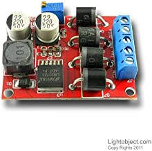 Lightobject ESSR-25DAC Solid State Relay 25 amp DC in AC Out