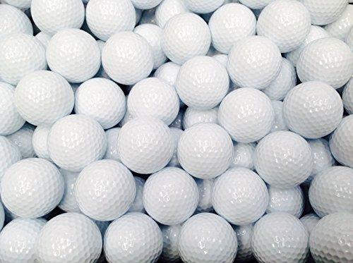 50Neu Weiß 3Stück Golf Bälle