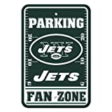 Fremont Die NFL New York Jets Kunststoff Parking Signs -