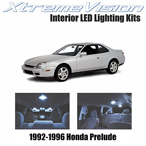 XtremeVision Interior LED for Honda Prelude 1992-1996 (2 Pieces) Cool White Interior LED Kit + Installation Tool