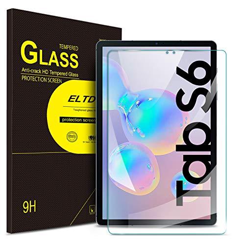 ELTD Displayschutzfür Samsung Galaxy Tab S6 10.5/Tab S5e 2019, Rounded Corners 2.5D, 9H Härte, gehärtetes Displayfolie Schutzglas für Samsung Galaxy Tab S6 SM-T860/T865 10.5 Zoll (1 Stück)