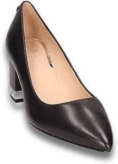 Decoltè Guess FL8ZNY LEA08 scarpe donna in pelle rosa e strass