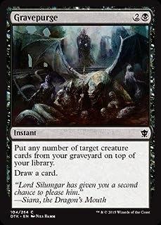 Magic The Gathering - Gravepurge (104/264) - Dragons of Tarkir