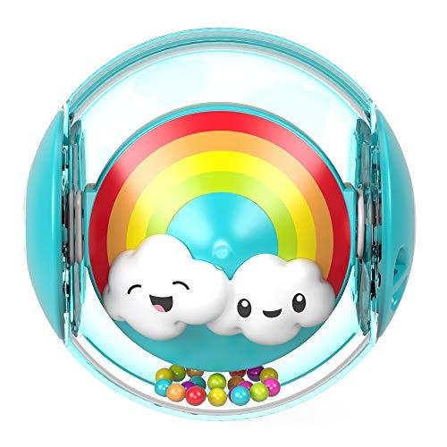 Fisher-Price FYL41 - Regenbogenball, Babyspielzeug mit 2 Spielmöglichkeiten ab 9 Monaten