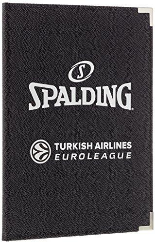 Spalding Unisex-Adult Ball el schreibmappe A4 68-514Z, black
