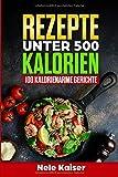 Rezepte unter 500 Kalorien: 100 kalorienarme Gerichte,kalorienarmes Kochbuch, schnelle Gerichte,...