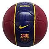 NIKE FC Barcelona Temporada 2020/21-FCB NK STRK-FA20CQ7882-620 Balón de Fútbol, Unisex, Noble Red/Loyal Blue/(Varsity Maize), 5