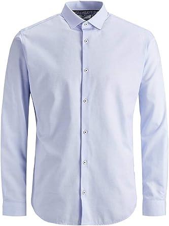 Jack & Jones Jprvictor Shirt L/S Noos Camisa para Hombre