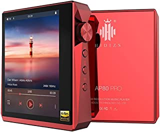 Hidizs AP80 Pro Mini Lossless Player HiFi Dual ESS9218P Bluetooth MP3 USB DAC Hi-Res Audio DSD64/128 Apt-X/LDAC FM Step Co...