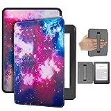 HHF Pad Accesorios para Kindle 10a Generación 2019 6 Pulgadas E-Lector, Titular de la Mano Caso de cáscara Colorida de la Cubierta para Todos - Nuevo Kindle (Color : Space Hand Strap)