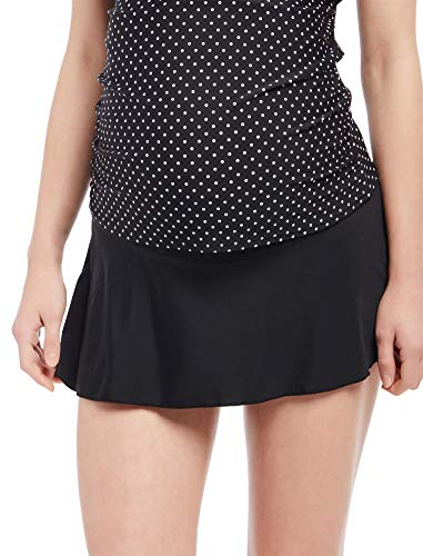 Motherhood Maternity Women's Maternity Basic Swim Skirt
