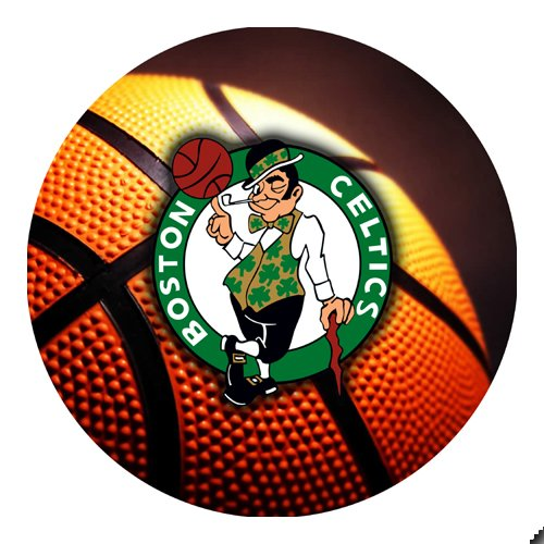 Celtics Basketball Round THICK Mousepad Mouse Pad Great Gift Idea Boston