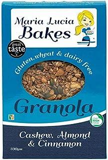 Maria Lucia Bakes Cashew, Almond and Cinnamon Granola, 325 g