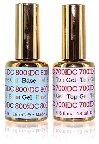 DND DC Gel Base and Top 0.6 oz 18ml