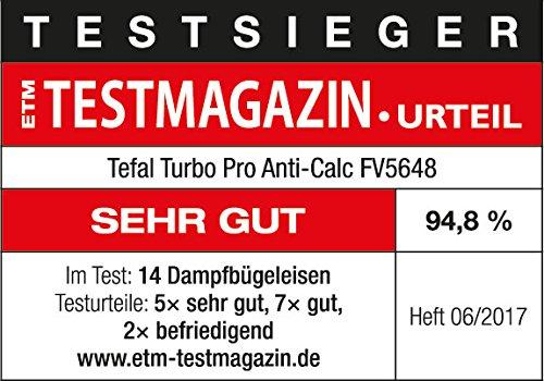 Tefal FV 5648 Ferro da stiro a vapore Aqua Speed