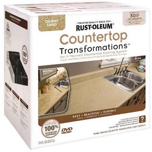 Rust-Oleum Countertop Transformations Kit, Large Kit, Desert Sand