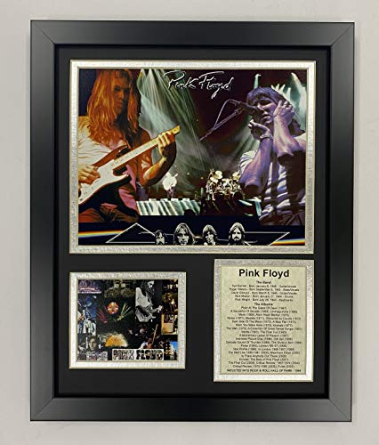 Pink Floyd 11' x 14' Framed Photo Collage by Legends Never Die, Inc. - Collage