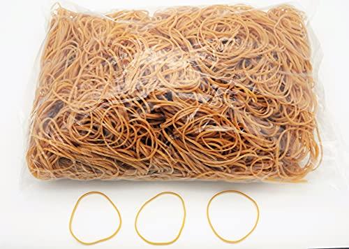 Progom - Gomas Elasticas - 80(Ø50) mm x 1.7mm - natural - bolsa de 1kg