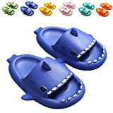 Kids Shark Sandal Girls Boys Slide Lightweight Garden Shoes Slip On Shoes Pool Shoes for Beach Pool Shower Slippers,sytx02blue150