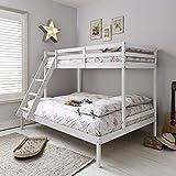 Noa <span class='highlight'>and</span> Nani - Kent Triple Bed Bunk Bed - (White)