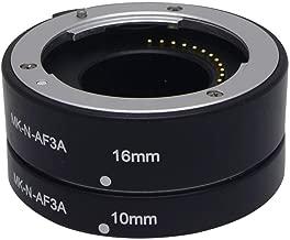 Mcoplus MK-N-AF3-A Metal Auto Macro Focus AF Extension Tube for Nikon 1 Mount Camera J1 J2 J3 V1 V2 …