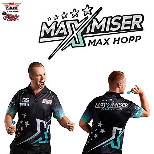 Bull´s Darts Max HOPP Maximiser Matchshirt Dart Shirt Trikot Design 2018 Dart Trikot (XXL)