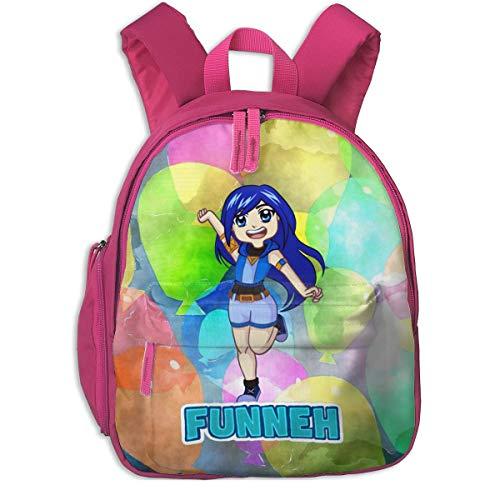 JKSA Its Funneh Kid's Travel Outdoor Backpack Durable Multi-Function School Bag Purse Bookbag
