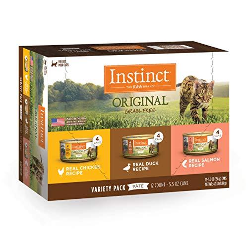 Instinct Grain Free Wet Cat Food Pate