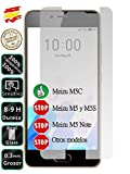 Movilrey Protector para Meizu M5C Cristal Templado de...