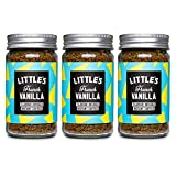 Littles natural French vanilla infused instant coffee 3 X 50g jars