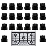 20 Pack Impresa Thermador Grate Feet Part Compatible with Part Number 00618112...