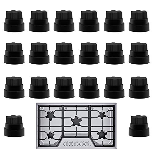 20 Pack Impresa Thermador Grate Feet Part Compatible with Part Number 00618112 1999626, 617174, 618112, AH3478553, EA3478553, PS3478553