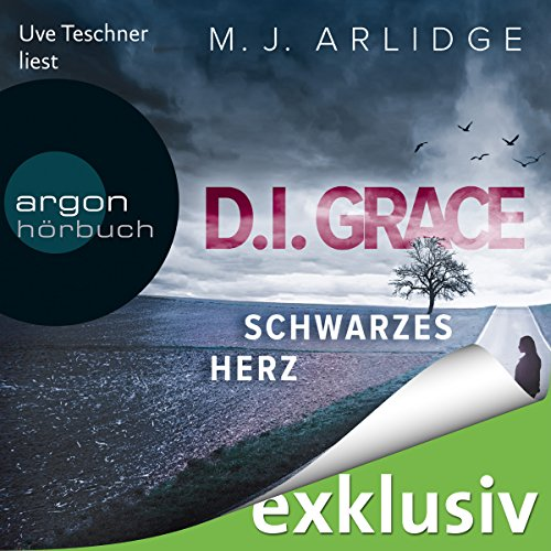 Schwarzes Herz (D. I. Grace 2) audiobook cover art