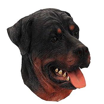 Latex Animal Dog Mask Rottweiler Mask Halloween Costume Party Latex Mask
