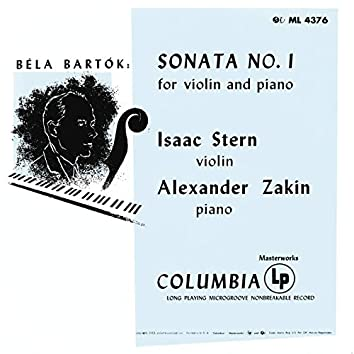 Bartók: Violin Sonata No. 1, Sz. 75 (Remastered)