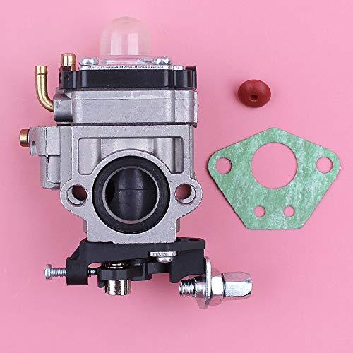 Tiempo MEIPA Carburador Carb Gasket válvula de Cheque for 1E40F-5 40F-5 BG430 43cc 49CC Gasolina cortabordes Cortador Pieza del Motor