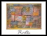 Germanposters Paul Klee Poster Kunstdruck Bild Kreuze und