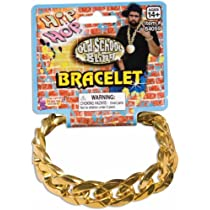 Hip Hop Big Links Metal Bracelet ヒップビッグリンクメタルブレスレット?ホップ♪ハロウィン♪サイズ: