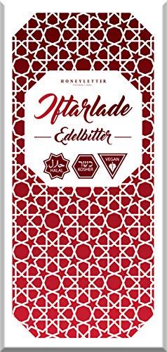 Schoko Tafeln Premium Feinste Schokolade - 5er Pack Halal und Kosher (Edelbitter - 5er Pack)