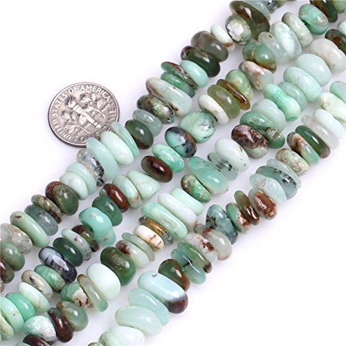 JOE FOREMAN Australian Jade Beads for Jewelry Making Natural Gemstone Semi Precious 10x12mm Rondelle Heishi Spacer 15'