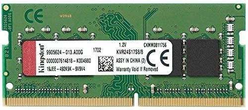 Preisvergleich Produktbild KINGSTON 8GB 2400MHz DDR4 Non-ECC CL17 SODIMM 1Rx8 Bulk 50-unit increments
