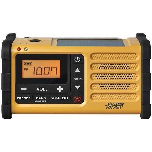 Sangean Mmr-88 AM/FM/Weather/Handcrank/USB/Solar Emergency Alert Radio by Sangean