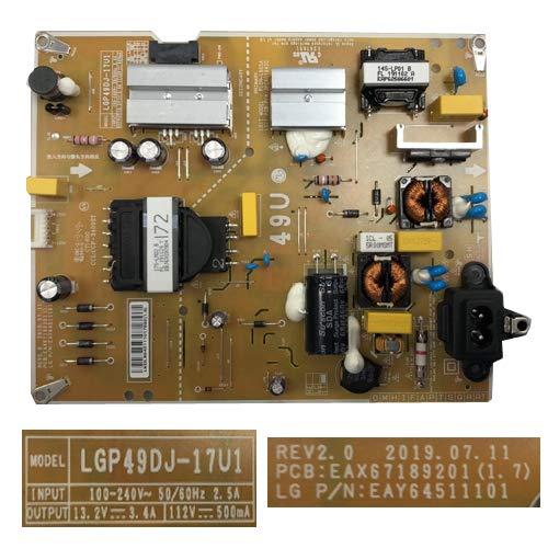 Abbildung LG 49UM7050PLF LGP49DJ-17U1 REV2.0 EAX67189201 (1.7) EAY64511101