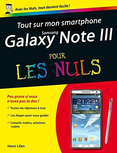 Tout sur mon smartphone Galaxy Note 3 Pour les Nuls PDF Books