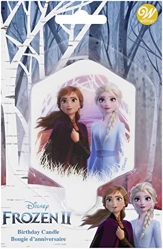 Wilton Disney Frozen 2 Birthday Candle, 3.5 in.